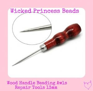 1 Wood Handle Beading Awls 13mm